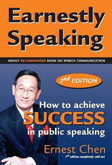 Earnestly Speaking - Public Speaking Bestseller in Singapore