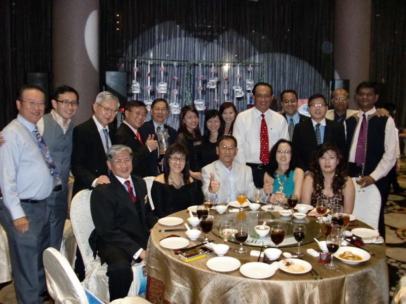 Div S 20th anniversary dinner